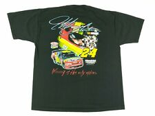 VTG 90s Competitors View Jeff Gordon Double Sided Print NASCAR T Shirt XL