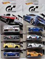 Gran Turismo Set  8 pcs (BMW, Ford, Nissan, Mitsubishi u.a.)  / Hot Wheels 1:64