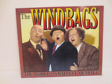 THE THREE STOOGES METAL SIGN VINTAGE RETRO VTG 1996 WINDBAGS COMEDY PRODUCTIONS