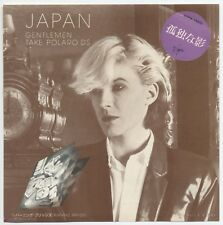 "Japan, David Sylvian - Gentlemen Take Polaroids c/w Burning Bridges 7"" JAPAN 45"
