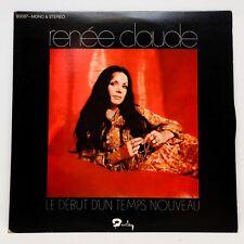 Renée Claude Le Début d'un Temps Nouveau LP Vinyl Album Record Barclay 80087