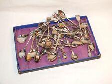 + Collection de 30 cuillères à moka - souvenirs - majorité de Bretagne +