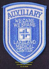 LMH PATCH Badge LAKELAND MEDICAL CENTER Regional Hospital AUXILIARY Florida Logo