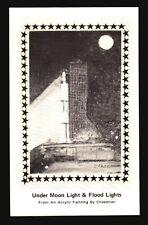 Space Postcard - Cheeseman Under Moon Light (Minor Crease) - L523