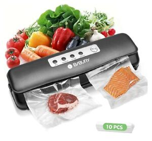 Vacuum Sealer, BIBURY Automatic/Manual Food Sealer for Dry and Moist Food,...