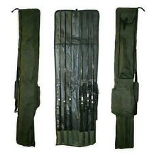 CARP FISHING ROD HOLDALL HOLDS 3 RODS AND REELS MADE UP NGT