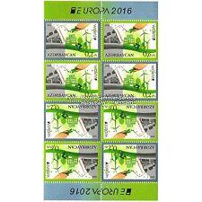 Aserbaidschan Azerbaijan Europa CEPT 2016, Umwelt/Think green, MH-Bogen **