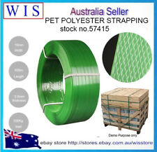GRN PET Polyester Strap Embossed Opaque,Anti-Splitting,16mm Wide,500Kg B/S-57415