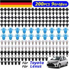 200x für Toyota & Lexus Befestigung Clips Klip Spreizniete Bodenverkleidung Auto