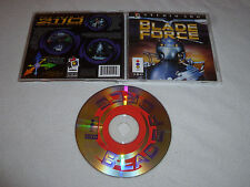 PANASONIC 3DO VIDEO GAME BLADE FORCE W CASE & MANUAL FZ10 FZ1 GOLDSTAR