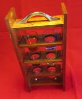 Mid Century Shot Glass Display / Serving Tray