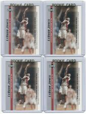 4 LEBRON JAMES 2003-04 Upper Deck Rookie Card RC lot/set Mint Gold Top Loader 12