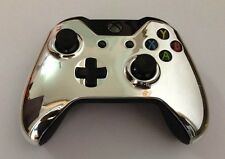 CUSTOM SILVER CHROME xbox One Modded Rapid Fire Controller Adv Warfare + ALL FPS