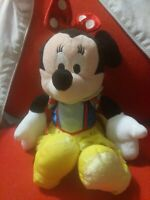 Disney Minnie Mouse Dressed As Classic Snow White Soft Toy Plush VGC