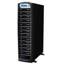 1-13 Blu-ray DVD CD Duplicator 500GB HD Add BD CopyProtection SharkBluCP-S13T-BK