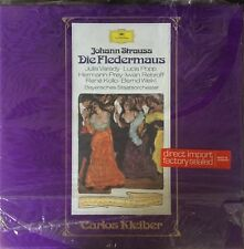 DGG 2707 088-STRAUSS-DIE FLEDERMAUS-KLEIBER-ORIGINAL VINYL 2-LP BOX SET-GERMANY