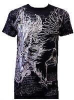 Konflic NWT Men's Eagle Defender Graphic Designer MMA Muscle Crewneck T-shirt