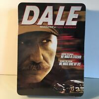 NASCAR Dale Earnhardt Narrated By Paul Newman 6 DVD Set & Tin Brand New Sealed