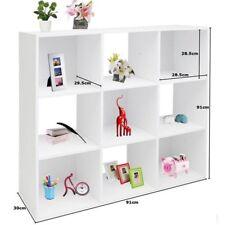 Libreria Da Moderno Cubi Parete Muro Librerie Mensola Arredamento Bianco Mobile