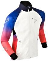 Giacca Sportiva Donna Blu/Rosso/White Maniche Lunghe  Bjorn Daehlie Jacket Woman