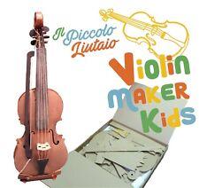 Il piccolo liutaio Gioco modellismo Violino cartone scala 1:1 Stradivari Cremona