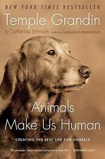 "Temple Grandin ""ANIMALS MAKE US HUMAN"" - Brand New Softcover"