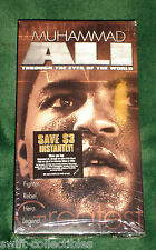 NEW Muhammad Ali: Through the Eyes of the World (VHS, 2002) RARE BOXING SEALED