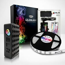 LED Bias Lighting Kit for Home Theaters - Color-changing LED RGB Light Strip Kit