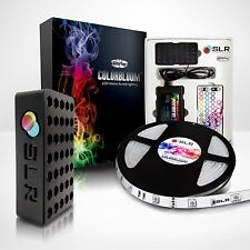 RGB LED Home Theater Accent Lighting Kit - Color-changing LED Light Strip Kit
