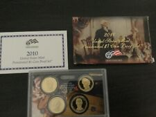 2010S Presidential Dollar Coin Proof Set In Original Government Packaging
