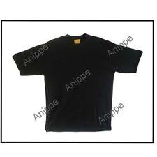 New 100% Egyptian Cotton Plain Black t Shirt Undershirt Black T Shirt X large