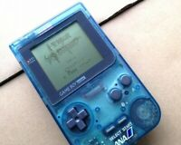 Nintendo GameBoy Pocket Clear-Blue ANA Air-Line Special Edition JP Free Ship