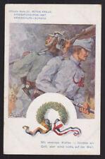 Austria 191? Postcard cover KuK Landst Inft. Reg Nr 2 Feldkompagnie to Linz
