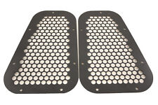 LAND ROVER DEFENDER 90 / 110 METAL BLACK POWDER COATED TOP WING VENT SET OF TWO