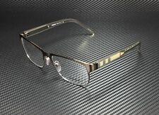 BURBERRY BE1289 1212 Brushed Brown Demo Lens 55 mm Men's Eyeglasses