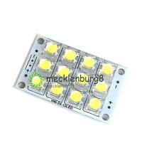DC 3V-5V 12-LED Super Bright White Piranha LED board Night LED Lights Lamp NEW