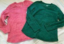 Lot of 2 St. Johns Bay Men's Gray Long Sleeves V Neck Pullover Shirt Small new