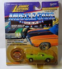 Johnny Lightning 1970 Dodge Challenger Muscle Cars USA ser.1 LE 20,000
