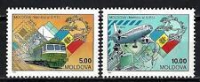 Moldavie 1992 adhésion à l'UPU Yvert n° 33 et 34 neuf ** 1er choix
