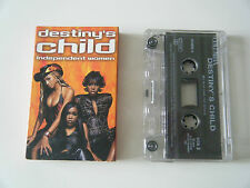 DESTINY'S CHILD INDEPENDENT WOMEN PART I & II CASSETTE TAPE SINGLE SONY 2000