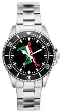 Italien Italy Geschenk Fan Artikel Zubehör Fanartikel Uhr 2238