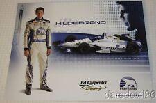 2014 J.R. Hildebrand Preferred Freezer Services Chevy Indy 500 Indy Car postcard