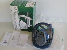 MSA Advantage 3000 Full Face Mask Dual port Respirator MEDIUM 3200 3221 Gas Mask