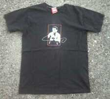 Oscar De La Hoya Boxing Shirt ~ Men's Medium M ~ Black Short Sleeve
