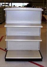 Gondola Shelving ENDCAPS Used Store End Shelves Fixtures Dollar Discount Grocery