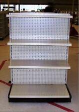 Gondola Shelving ENDCAPS Used Store End Shelves Fixtures Dollar Discount Grocery