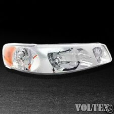 1999-2002 Lincoln Town Car Headlight Lamp Clear lens Halogen Passenger Right