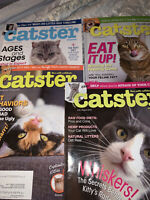 CATSTER Magazine 2018 4 Issues March/April, July/August, Sept/October & Nov/Dec.
