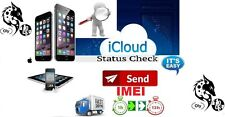 iCloud Status Check (FMI :Clean /LOST ) iPhone  / iPad 3G 4G