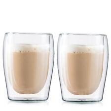Boral Doppelwandige Cappuccinogläser / Thermogläser, 2er Set, 300 ml